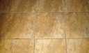 Tile flooring throughout