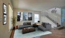 Foyer / Living Room Staged
