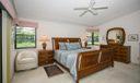Corner bright windows in Master Bedroom