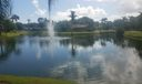 Lake w/ Fountain