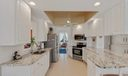 KITCHEN WITH GRANITE & STAINLESS STEEL