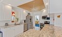 KITCHEN - LARGE COUNTERS, DOUBLE SINK, O