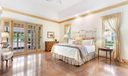 Master Bedroom opens to loggia