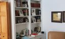 Den/3rd bedroom book shelf