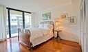 Wrap around balcony in bedrooms