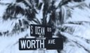 Worth Avenue Sign