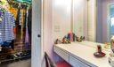Master Bdrm Cedar Closet & Make-up Area