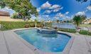 lake and pool view
