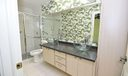 Master Bath wtih Custom Glass Sinks