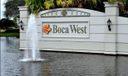 Boca West Sign