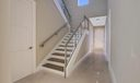 Stairs to 2 bedrooms plus loft