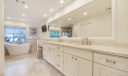 Dual Vanities in Master Bath