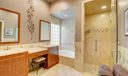 master bathroom/shower