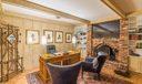Office/Den w/Fireplace