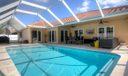 Pool from corner
