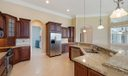 Open Kitchen with Granite & Stainless