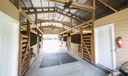 6 stall barn with tack and feed
