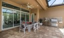 Patio and  Summer Kitchen