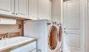 Laundry Room with Plenty of Storage spac