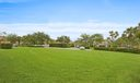 Greenspace behind Townhome