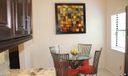 Eat-in kitchen nook