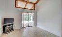 Guest Bedroom w/ Vaulted Ceilings