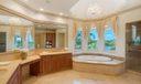 Master Bath overlooks water