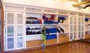 Built-In Equipment Storage