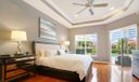 Wood Floors and moldings in Master Suite