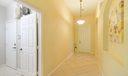 Foyer, Art Niche, Laundry Room Entrance