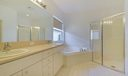 Master Bath, Dual Vanity, Soaking Tub, G