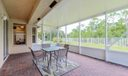Extended Screened Enclosed Patio