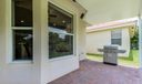 Extended Covered:Pavered Patio with Kitc