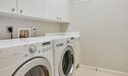 Laundry Room with Washer, Dryer, and Sto