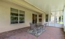 Screen Enclosed Patio off Family Room an