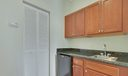 Studio kitchenette area