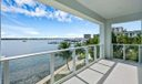 104 Water Club Ct N Master Bed Balcony
