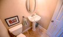 Half bath_travertine floors
