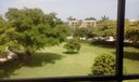 A view from the balcony
