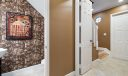896 University powder room and entry