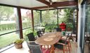 EXTENDED COVERED/ SCREENED PORCH
