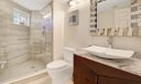 Remodeled guest bath