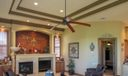 Tray Ceilings in all Living Areas