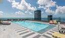 Roof top pool private