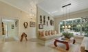 Entrance Way & Sunny Living Room