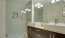 Full Guest Bath with Dual Sinks