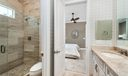 Jack & Jill Bathroom Upstairs