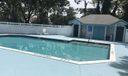 inside comunity small pool