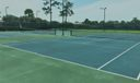 Tennis Court in Club House
