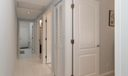 Hallway to laundry and garage
